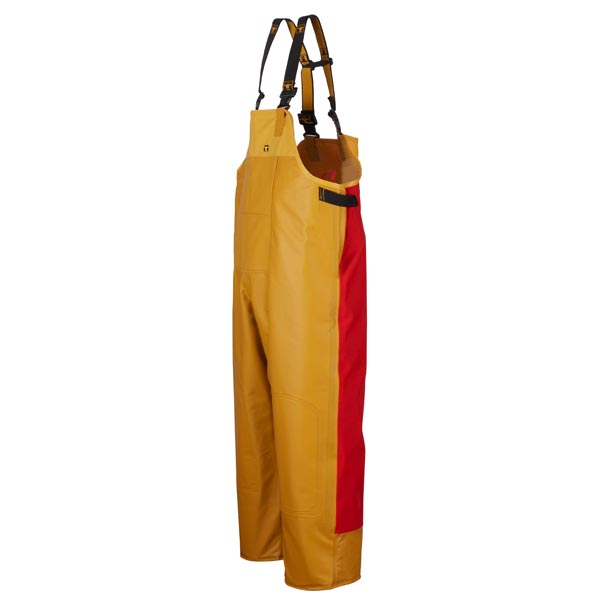 Guy Cotten Drembib - Colour: Yellow/Red - Size 05) XX Large