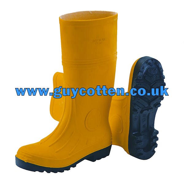 GC Admin Safety Boots - Yellow - 45 (UK 11)